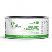 VetExpert Cat Obesity and Diabetes - 6 броя консерви