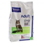Virbac HPM Adult Neutered Cat with Salmon - за кастрирани котки със сьомга