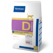 Virbac Cat Dermatology Support - кожни проблеми