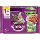 Whiskas Casserole Микс меню в желе - Пакет 4 x 0.85 гр
