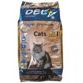 Del+ Gourmet Cat - с пиле, риба и ориз