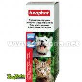 Beaphar Oftal - лосион за почистване на козината около очите, 50ml