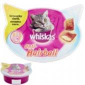 Whiskas Anti-Hairball - лакомство против космени топки, 60гр