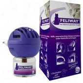 Ceva Feliway Diffuser - пълнител с изпарител с котешки феромон 48 мл.