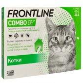 Frontline Combo spot on Cat - противопаразитна пипета за котки