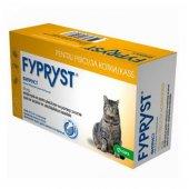 Fypryst 50mg - Фиприст за котки, 3 броя пипети
