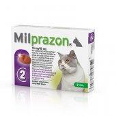 Milprazon, милпразон 16мг/40мг, 2 таблетки за котки с тегло най-малко 2кг