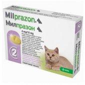 Milprazon, милпразон 4мг/10мг, 2 таблетки за котки с тегло най-малко 0.5кг