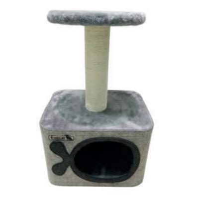 Freedog CAVE - Драскалка, 35 х 27 х 55 см, сива