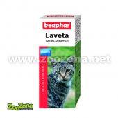 110217 - Витаминни капки за котки Beaphar Laveta, 50мл