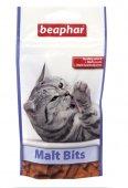 Beaphar Malt Bits - Малцови хапки против топки косми, 35гр