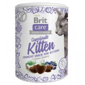 Brit Care Cat Snack Superfruits Kitten, 100гр - за котенца, с пилешко