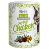 Brit Care Cat Snack Superfruits Chicken, 100гр - с пилешко