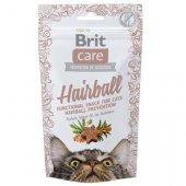 Brit Care Cat Snack Hairball, 50гр - против космени топки