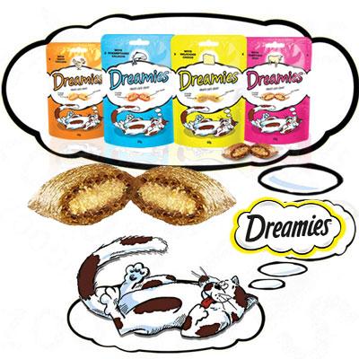 Dreamies със Сирене, 60 гр Лакомство за котки