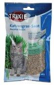 Trixie Трева за котки - семена от ечемик в плик, 100гр