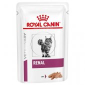 Royal Canin Cat Renal Multipack LOAF, пауч, пастет - 12x85гр