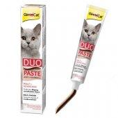 GimCat Anti-Hairball Duo-Paste - Малцова паста с пиле, 50гр