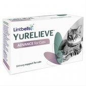 YuRELIEVE ADVANCE for Cats, 30 капсули - тройно действие за здрав уринарен тракт