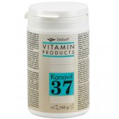 Diafarm Kanavit 37 - хранителна добавка на прах за котки и кучета, 150гр