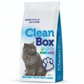 CleanBox Натурална, 5 литра - постелка от бял бентонит