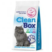 CleanBox Бебешка пудра, 5 литра - постелка от бял бентонит