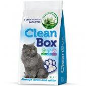 CleanBox Алое вера, 5 литра - постелка от бял бентонит