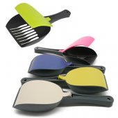 M.P. Bergamo Shaker - лопатка с капак, 28x10см, различни цветове