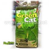 Green Cat, 12 литра царевична тоалетна за котки