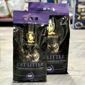 Cat Royale clumping - бентонит с аромат на лавандула