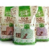 Mon Ami ECO Биоразградима постелка, 6л, 2.6кг, Зелен чай
