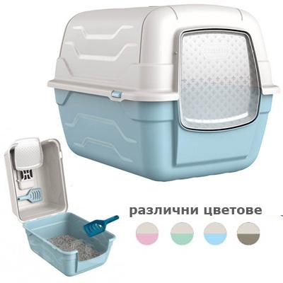 Georplast ROTO, закрита тоалетна с филтър и лопатка
