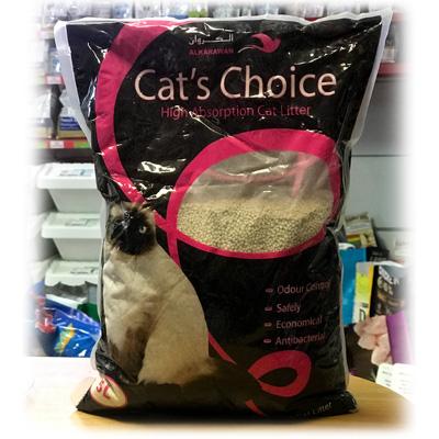 Cats Choice, 5литра, около 3.6кг - калиброван бентонит