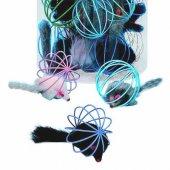 Nobby Телена топка с кожена мишка