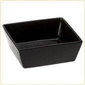 Ferplast ALTAIR 16, черна керамична купа, 16 x 16 x h 6 cm - 0.8 L