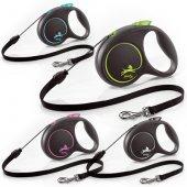 Flexi Black Design M - 5м въже, до 20кг куче