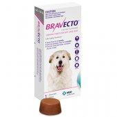 Bravecto Tabl. за кучета с тегло от 40 до 56 кг - 1 брой таблетка