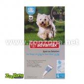 Advantix Спот-он за кучета от 4 до 10кг