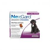 Merial Nexgard 68 mg. за кучета с тегло 10-25 кг - 3 дъвчащи таблетки срещу бълхи и кърлежи