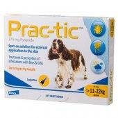 Prac-tic - 3 броя пипети за кучета с тегло от 11 кг. до 22 кг