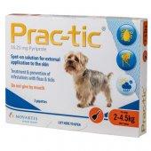 Prac-tic - 3 броя пипети за кучета с тегло от 2 кг. до 4.5 кг