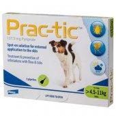 Prac-tic - 3 броя пипети за кучета с тегло от 4.5 кг. до 11 кг