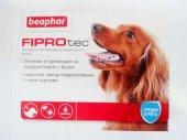 Beaphar FiproTec за средни породи,10-20 кг, 6 пипети