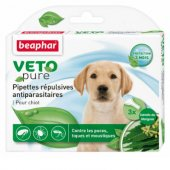 Beaphar Veto Pure Bio Spot On Puppy - 3 бр пипети за малки кученца