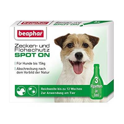 Beaphar Био спот он за кучета от дребни/средни породи, 3 пипети