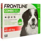 Frontline Combo XL, 40-60 spot on за кучета с тегло от 40 до 60кг