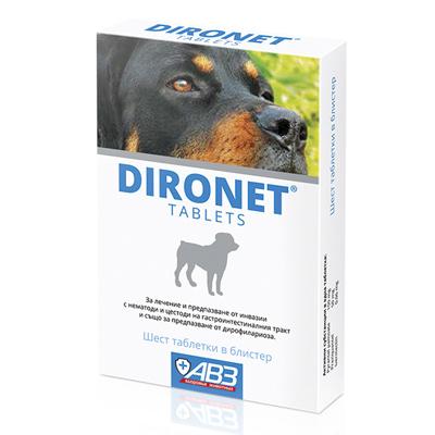 Dironet Диронет, 6 таблетки