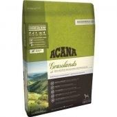 Acana Dog Grain Free Grasslands - агне, патица и щука