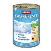 Animonda Dog Gran Carno Winter - елен, кестени и боровинки, 400гр