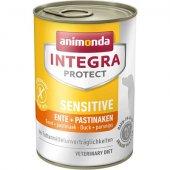 Animonda Integra Protect Sensitive Dog с патица и пъщърнак - 400 гр